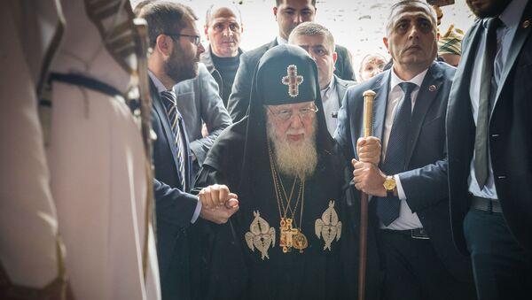 Католикос-Патриарх всея Грузии Илия II на празднике Мцхетоба-Светицховлоба - Sputnik Грузия