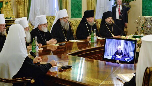 რუსეთის მართლმადიდებელი ეკლესიის წმინდა სინოდი - Sputnik საქართველო