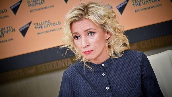 მარია ზახაროვა - Sputnik საქართველო