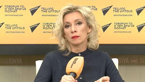 Вопросы - ответы: Захарова пообщалась с грузинскими журналистами - Sputnik Грузия