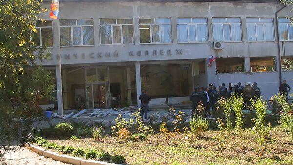 Теракт в политехническом колледже в Керчи - Sputnik Грузия