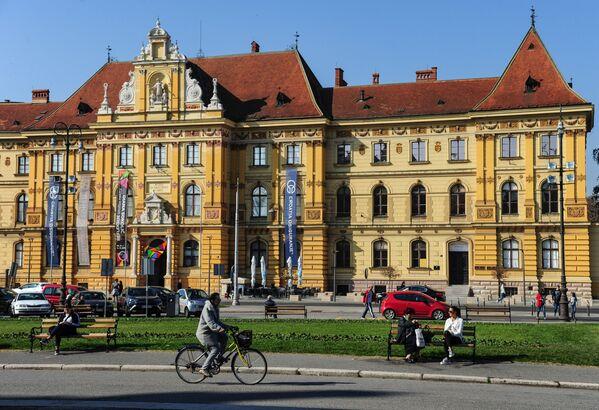 Музей искусств и ремесел в Загребе был основан в 1880 году. Сегодня в нем представлено более 160 тысяч экспонатов. Здесь можно найти предметы, которым более шестнадцати веков - Sputnik Грузия