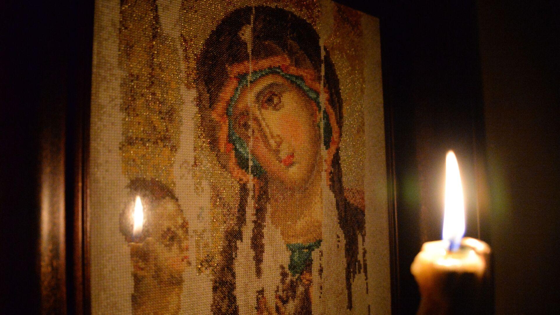 Икона Богородицы Святой Девы Марии - Sputnik Грузия, 1920, 06.10.2021
