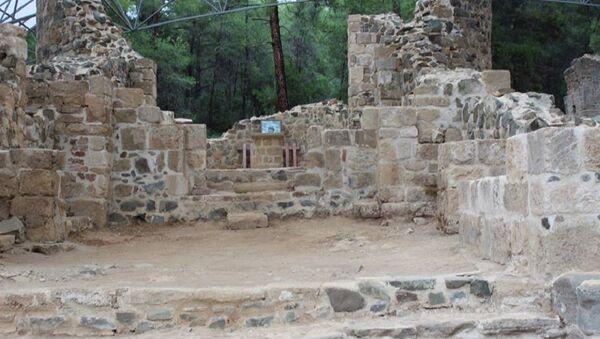 Грузинский монастырский комплекс Жалия имени Пресвятой Богородицы на Кипре - Sputnik Грузия