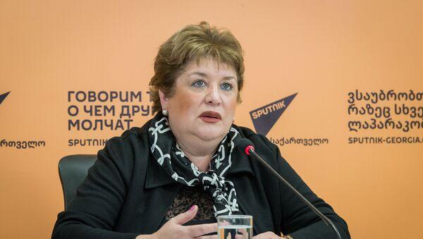 Доктор политических наук, профессор Тамар КИКНАДЗЕ  - Sputnik Грузия