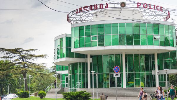 Прозрачный полицейский участок в Тбилиси - Sputnik Грузия