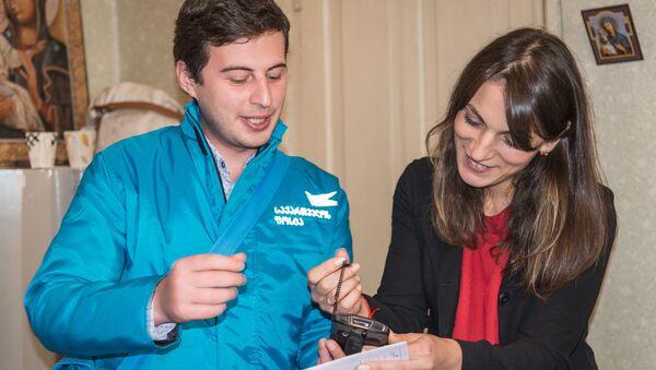 Рубрика  Журналист меняет профессию - почтальон  - Sputnik Грузия