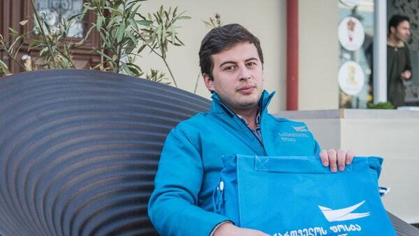 Репортер меняет профессию: как работают тбилисские почтальоны - Sputnik Грузия