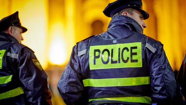 Сотрудники грузинской полиции - Sputnik Грузия