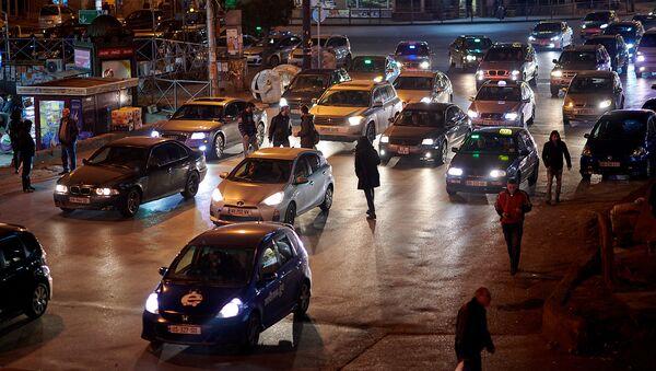 ტრანსპორტის მოძრაობა გლდანში - Sputnik საქართველო