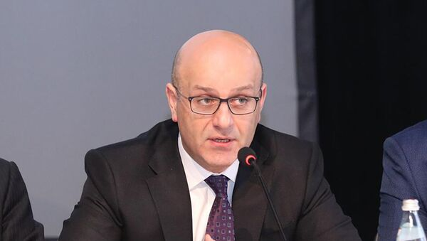 Министр финансов Грузии Иване Мачавариани   - Sputnik Грузия