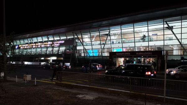Тбилисский международный аэропорт - терминал отлета - Sputnik Грузия