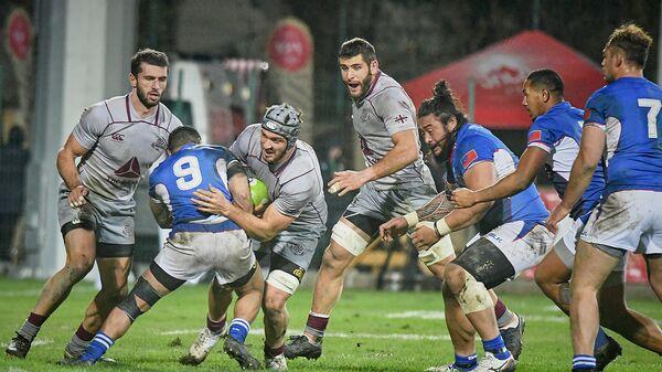 Матч между сборными Грузии и Самоа по регби - Sputnik Грузия