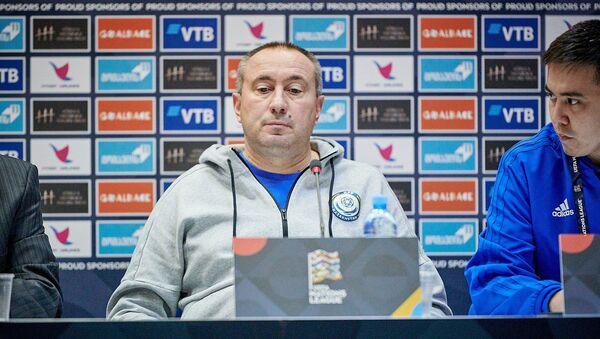 Грузия победила заслужено - тренер сборной Казахстана - Sputnik Грузия