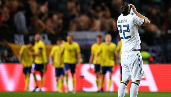 Футбол. Лига наций УЕФА. Матч Швеция - Россия - Sputnik Грузия