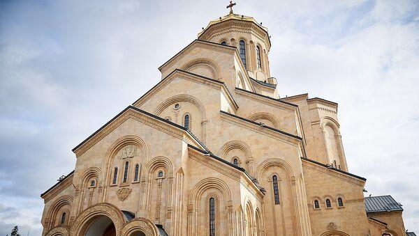 Храм Святой Троицы - Самеба - Sputnik Грузия