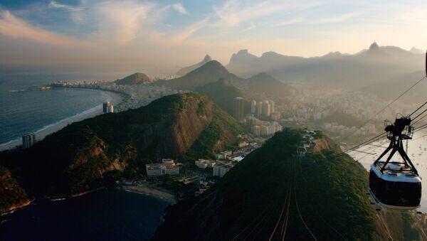 საბაგირო რიო-დე-ჟანეიროს თავზე, ბრაზილია - Sputnik საქართველო