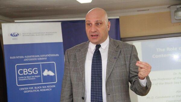 Политолог Ника Читадзе - Sputnik Грузия