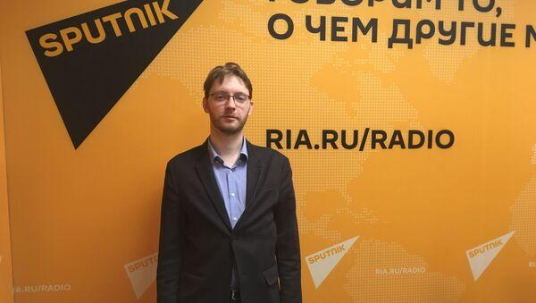 Эксперт информационно-аналитического агентства Вестник Кавказа Матвей Катков - Sputnik Грузия