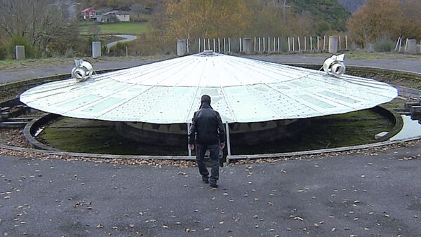 Космический корабль в саду - видео - Sputnik Грузия