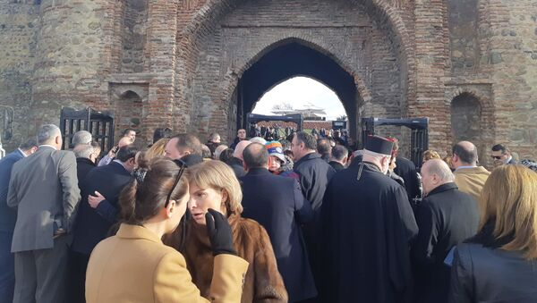 Гости на церемонии инаугурации Саломе Зурабишвили - Sputnik Грузия