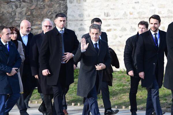 Церемонию инаугурации посетил бывший президент Франции Николя Саркози   - Sputnik Грузия