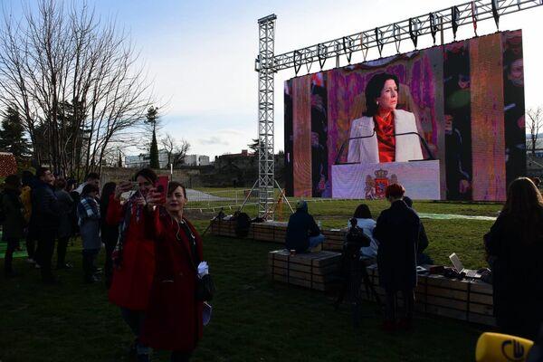 Церемония инаугурации Саломе Зурабишвили - Sputnik Грузия
