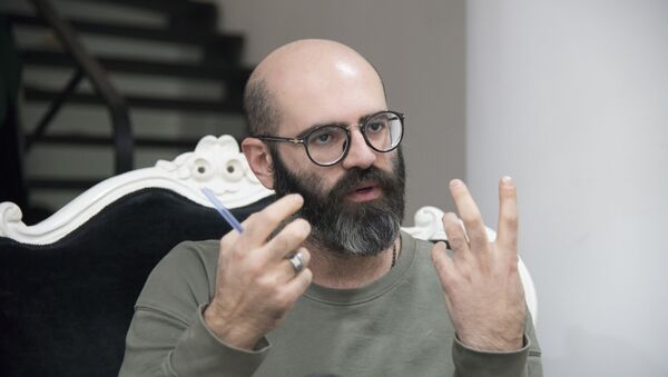 Лаша Джохадзе - дизайнер - Sputnik Грузия