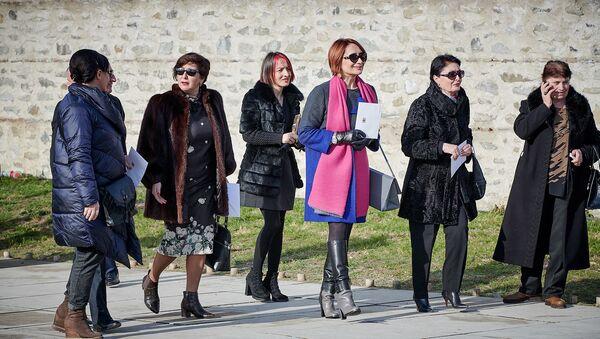 Женские наряды на церемонии инаугурации президента Грузии  - Sputnik Грузия
