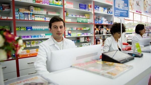 Журналист меняет профессию - добрый аптекарь - Sputnik Грузия