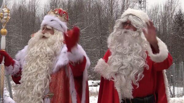 Дед Мороз и Иоулупукки - Новый год приближается - Sputnik Грузия