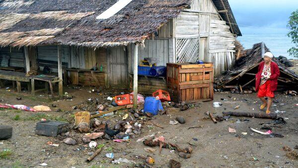 Последствия цунами в Индонезии - Sputnik Грузия