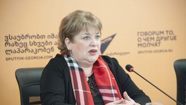 Тамар КИКНАДЗЕ - Sputnik Грузия
