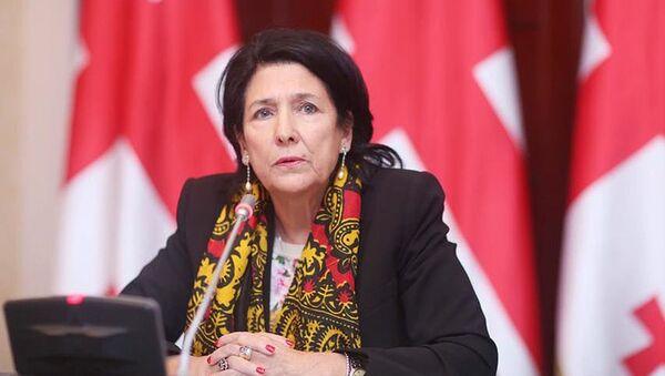 Саломе Зурабишвили - Sputnik Грузия