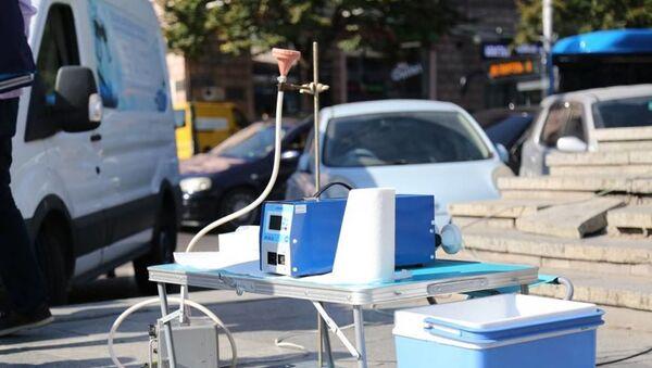 Аппаратура для измерения содержания свинца в воздухе - Sputnik Грузия