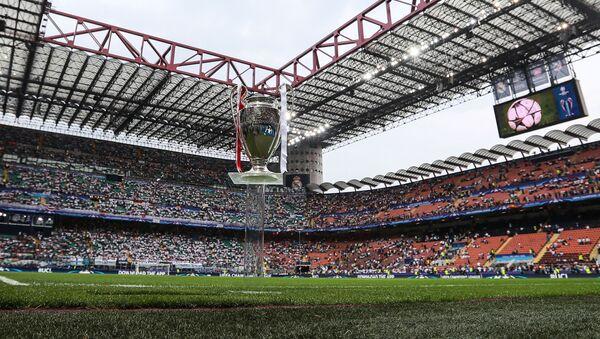 Кубок УЕФА Лиги Чемпионов 2015/16 на стадионе Сан-Сиро в Милане - Sputnik Грузия