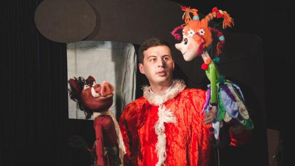 Журналист меняет профессию: актер кукольного театра - Sputnik Грузия