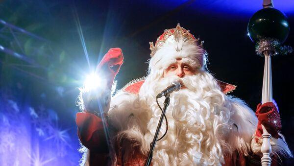 Всероссийский Дед Мороз в Санкт-Петербурге - Sputnik Грузия
