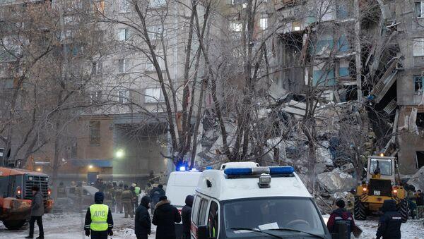 Взрыв бытового газа в жилом доме в Магнитогорске - Sputnik Грузия