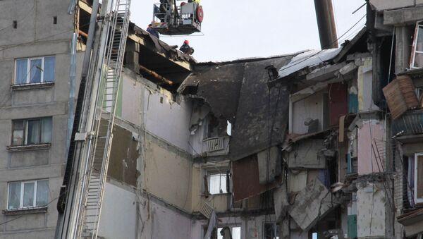 Ситуация в Магнитогорске в связи с обрушением подъезда жилого дома - Sputnik Грузия