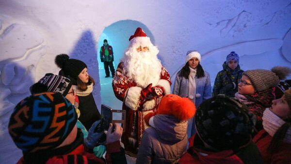 Фестиваль снежно-ледовой скульптуры Снеголед в Мурманской области - Sputnik Грузия