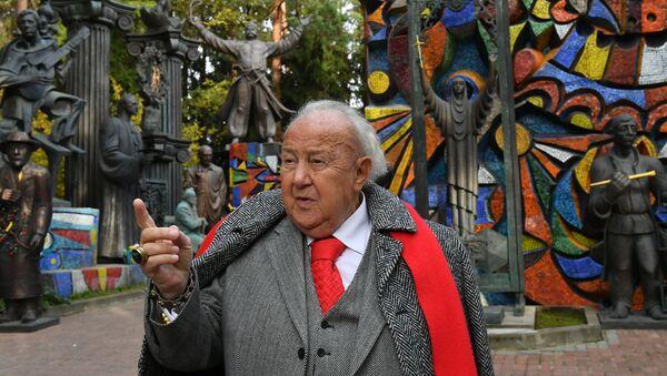 Президент Российской академии художеств, академик РАХ Зураб Церетели - Sputnik Грузия