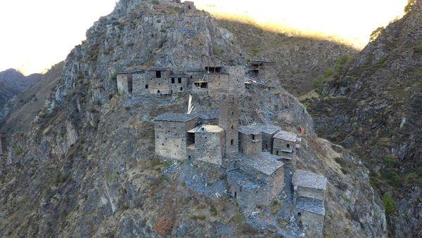 Село-крепость Муцо - Sputnik Грузия