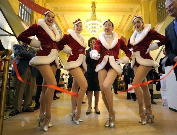 ნიუ-იორკის მოცეკვავეთა გუნდის Rockettes მონაწილეები - Sputnik საქართველო