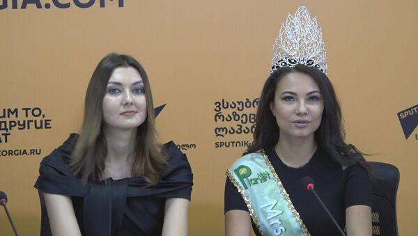 Грузинская красота глазами иностранных моделей - Sputnik Грузия