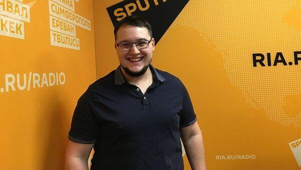 Известный шеф-повар многих московских ресторанов Антон Калер - Sputnik Грузия