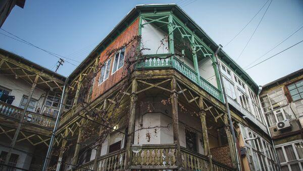 Балкончики старого Тбилиси - Sputnik Грузия