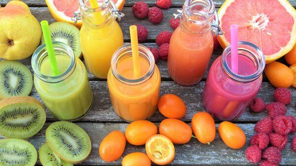 ხილის წვენი და ვიტამინები - Sputnik საქართველო