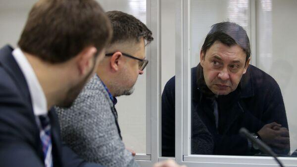 Рассмотрение апелляции на продление ареста журналиста К. Вышинского - Sputnik Грузия