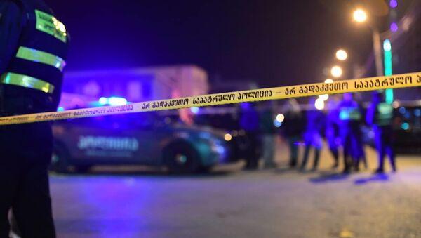 Полиция на месте взрыва в Дигоми - Sputnik საქართველო